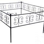 Ритуальная оградка «Проволока»