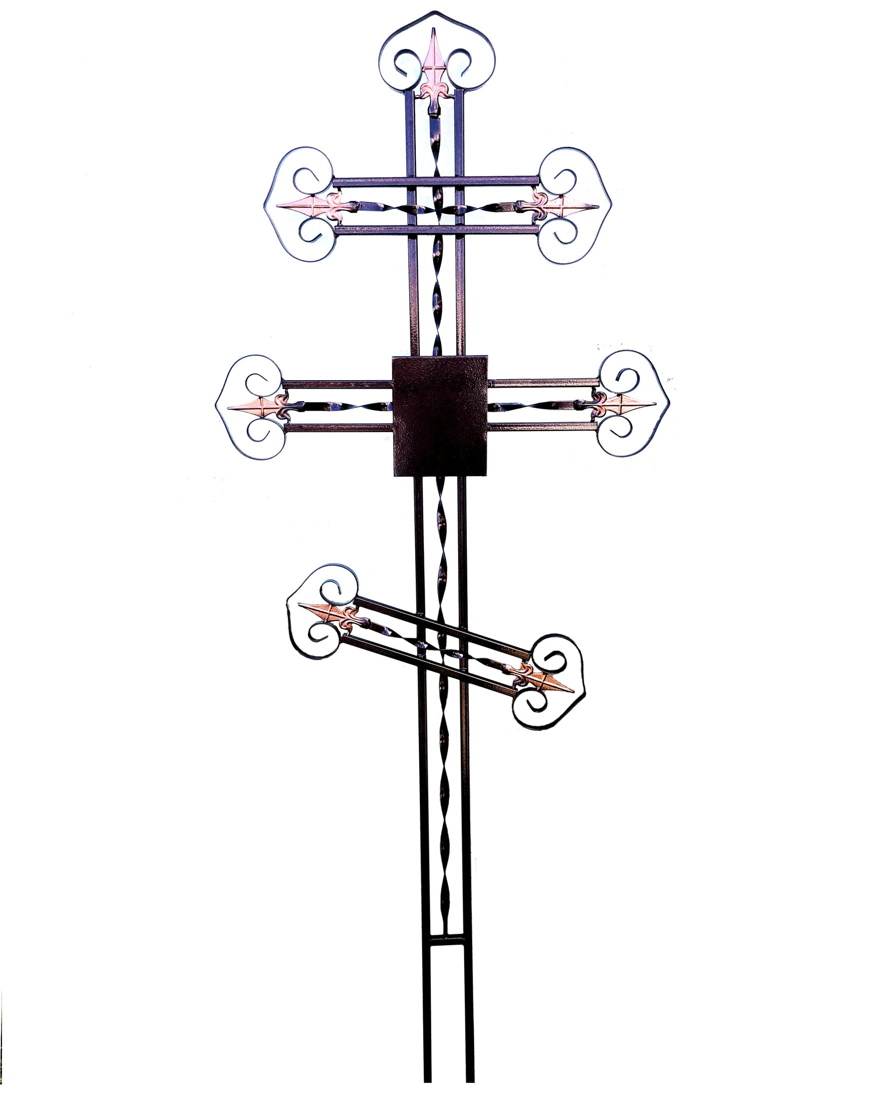 Крест с пиками